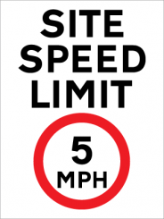 Site Speed Signs