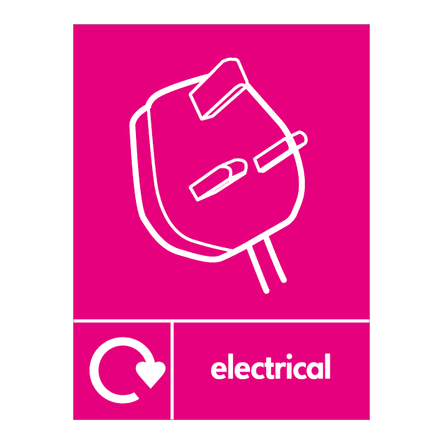 Electrical Waste Signs